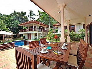Hillside cozy villa with great outdoor, Koh Samui