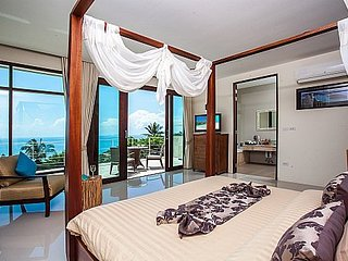 Majestic hillside sea view pool villa, Ko Samui