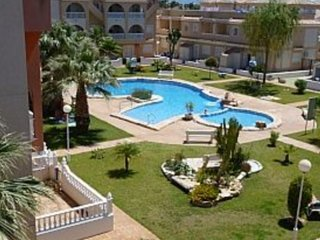 Townhouse Overlooking Pool  in Los Alcazares