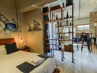 Stylish,Industrial-Chic Apartment -5 Swift Studios