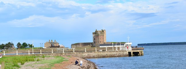 Broughty Castle minutes away
