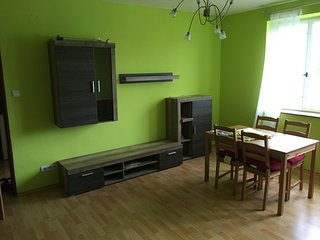 Sunny flat in the city centre, Decin