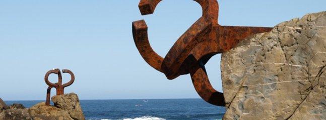 Esculturas de Chillida, El Peine de los vientos, ( San Sebastián)