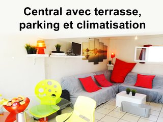 Central Parking Terrasse Climatisation