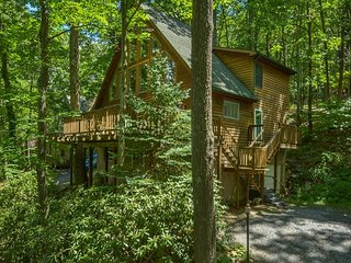 Chalet with Private Dock Close to DCL State Park