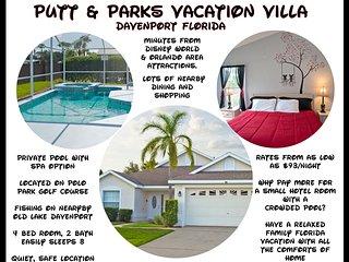 Fairways Lake Putt & Parks Villa, Davenport