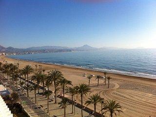 Apartamento en primera línea de playa, San Juan de Alicante