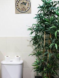 1st complete bathroom