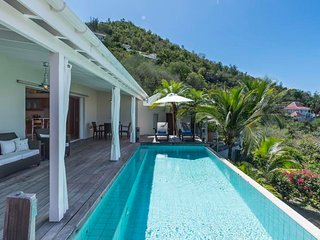 Villa Mille Etoiles at Corossol, St. Barth - Beautiful Sunset View
