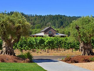 The Residence at Comstock Wines, Sleeps 8, Healdsburg