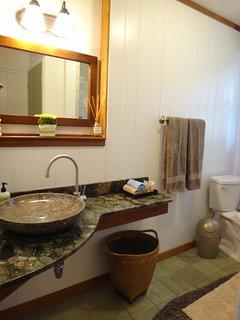 Hallway full bathroom!
