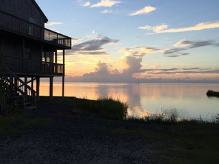 Spectacular Waterfront View on the Pamlico Sound