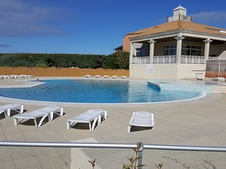 VUE SUR MER /PISCINE /DIRECT PLAGE/STUDIO+BALCON, Saint-Jean-de-Monts
