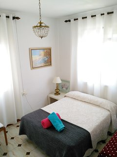 Habitación 1 con la mejor luz de la mañana y un buen descanso para la noche