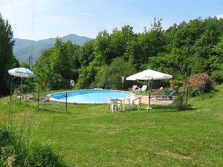 la capannella villa querceto, grande giardino, piscina, in esclusiva, wi-fi free