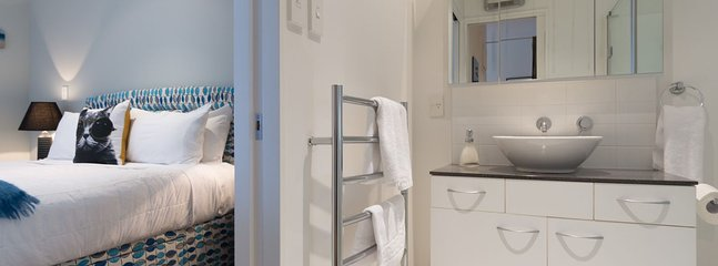 Heated towel rail & wall heater