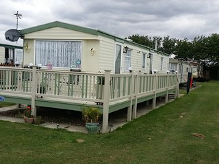 This is a 8 berth caravan s295 golden palm