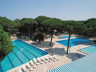 Chalet Italie, Comacchio lido di spina direct aan zee 4* camping Venetie