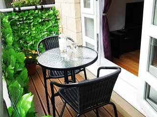 Private Balcony with Bistro Table and Chairs - Time to RELAX.