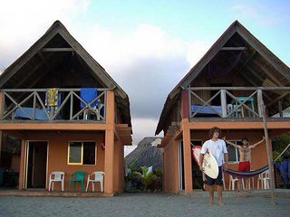 Cabaña en Nexpa con Vista al Mar