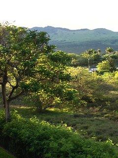View of Haleakala from the lanai