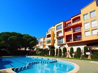 Apart-rent (0057) Apartamento con piscina comunitaria Empuriabrava