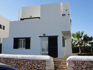 Sensacional villa en la playa de Menorca