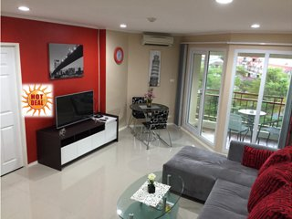 Luxury 58 Sqm Central Pattaya. Free 40mbps wifi