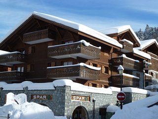 B8, ski apt, sleeps 8, FREE WIFI, secure parking, Les Carroz-d'Araches