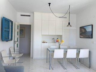 moderno apartamento playa y piscina