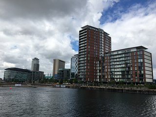 City Loft in Salford Quays, Manchester