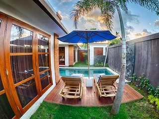 SEMINYAK NEW 2 BEDROOM LUXURY POOL VILLA!