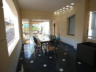3 cozy BRs with relax bathtub, terrace bancony D1, Ho-Chi-Minh-Stadt