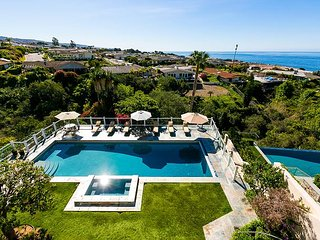 Ocean View Home with Large Pool - 31 Day Minimum Stay, Corona del Mar