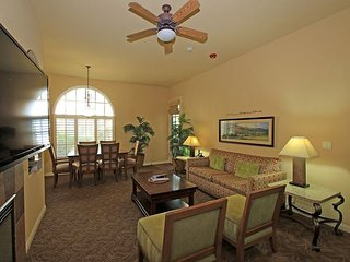 A Downstairs ADA Compliant One Bedroom Legacy Villa Close to the Main Pool!