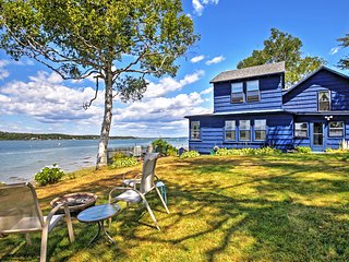 NEW! 3BR Atlantic Blue Cottage in Harpswell!