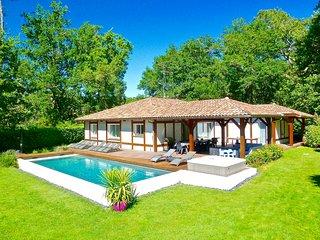 Villa landaise 10 pers., piscine chauffee, jacuzzi