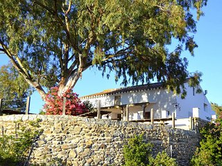Private Villa sleeps 10 with 4 extra chalets to sleep 8 more adults.