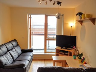 Very central ensuite double bedroom in shared flat, Dublino