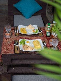 Honey Private House - Breakfast Area