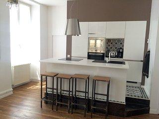 Appartement 50m², 4couchages, centre ville, rénové, Cahors
