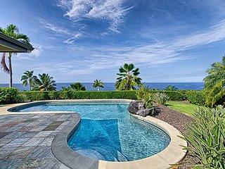 Beautiful single level 3 bedroom, 3 bath home with spectacular ocean views, Kailua-Kona