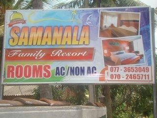 Samanala Family Resort, Anuradhapura