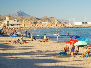 Beach near Costa Blanca, Campello