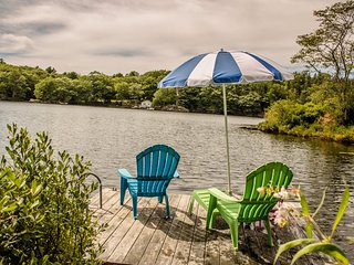 Blue Shutters | West Harbor Pond | Boothbay Harbor, Maine | New listing in 2016