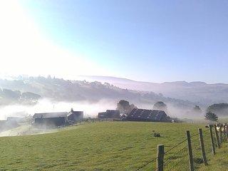 Bythynnod Moel Yr Iwrch Cottages, Hafod Iwrch