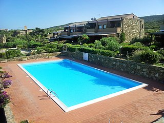 1 bedroom Apartment in La Pelosa, Sardinia, Italy : ref 5223849