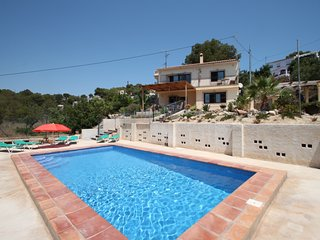 Dos Soles  - sea view holiday home with private pool in Costa Blanca, Benissa