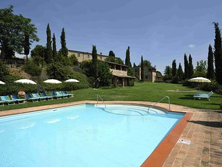 2 bedroom Villa in Asciano, Siena And Surroundings, Tuscany, Italy : ref 2135449
