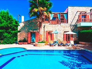 4 bedroom Villa in Asteri, Rethymno, Crete, Greece : ref 2214270